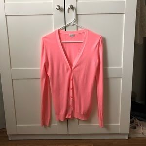 Gap sweater washed neon pink